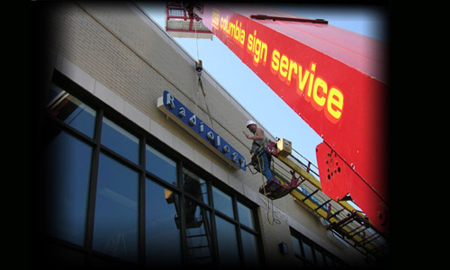Sign and Lighting Service